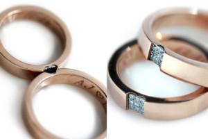 Casal Israelense Lança Alianças de Casamento Que Se Completam
